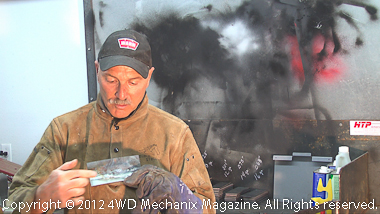 Welding tutorial with Moses Ludel available at 4WD Mechanix Magazine and the 4WD Mechanix Video Network how-to!