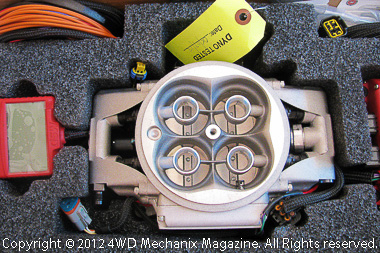 MSD Atomic EFI prototype for Jeep 4.2L inline six