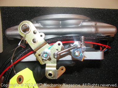 MSD Atomic EFI throttle linkage