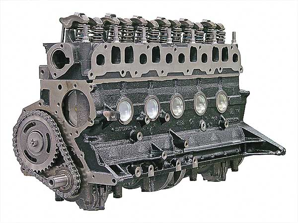 Mopar Performance 4.7L Stroker Long-Block retrofit engine to replace the 232, 258, 4.2L and 4.0L inline Jeep sixes.