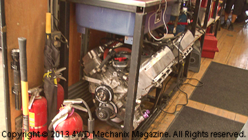 Spare engines for the MacCachren race trucks.