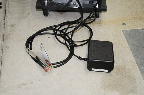 Ground and foot remote pedal