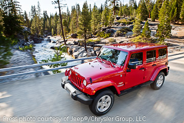2012 Jeep JK Wrangler on the road!