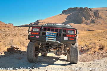 XJ Cherokee plies the High Rock Canyon trail.