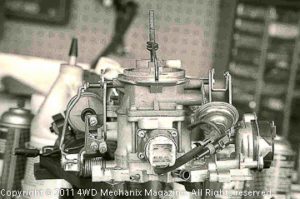 Moses Ludel's 4WD Mechanix Magazine - How-to: Tuning the Carbureted