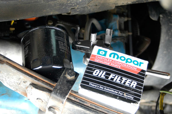 Moses Ludel uses Mopar OEM replacement oil filters!