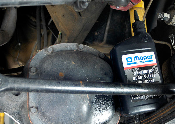 Quality Mopar lubricants are available through your local Jeep dealership.