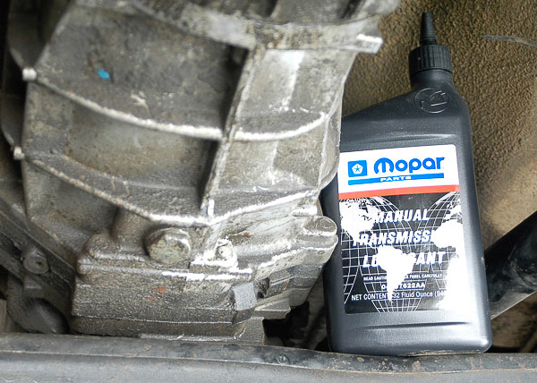 Using the correct Mopar transmission lubricant.