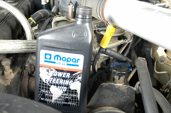 Use Mopar fluids available at your local Jeep dealership.