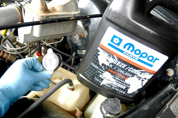 Use Mopar anti-freeze.