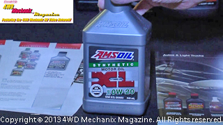 AMSOIL premium XL synthetic motor oil