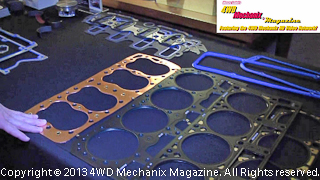 Fel-Pro gaskets from flathead Ford to blown fuel engines