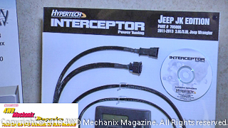 Hypertech Interceptor for late Jeep JK Wrangler 3.8L/3.6L V-6s.