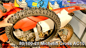 Michelin Cross AC10 front motorcycle tire