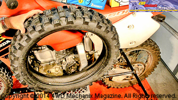Michelin Cross AC10 rear tire