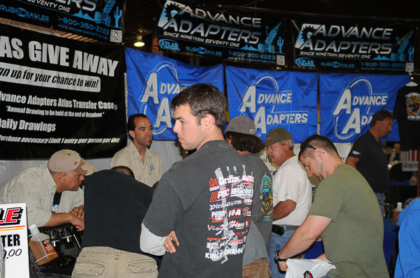 Mike Partridge of Advance Adapters interviewed at 2011 Moab Jeep Safari!
