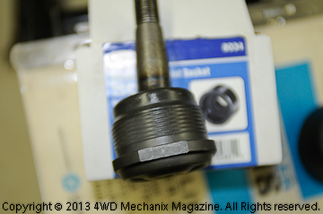 Threaded Chrysler style ball joint