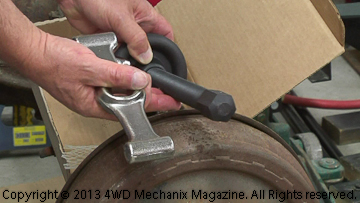Wing wrench or impact socket option