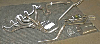 Borla exhaust system for the XJ Cherokee