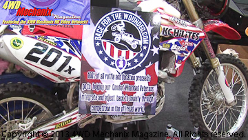 Honda CRF450X for Baja