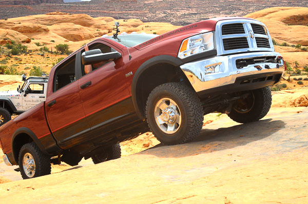 2012 Ram Power Wagon at Moab, Utah