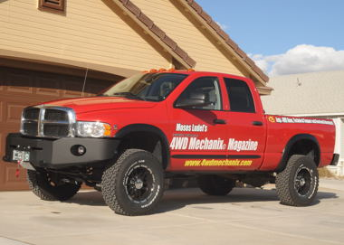 2005 Dodge Ram makeover included a chassis lift and 35
