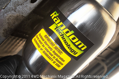 Moses Ludel's 4WD Mechanix Magazine – How-to: Installing a Random Technology High Performance Catalytic Converter