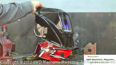 Ultra light weight of HTP Striker Stealth CSV welding helmet