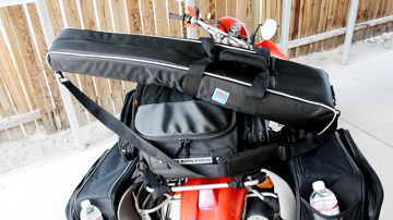 Nelson-Rigg triple bags including CL-series saddle and a tail bag