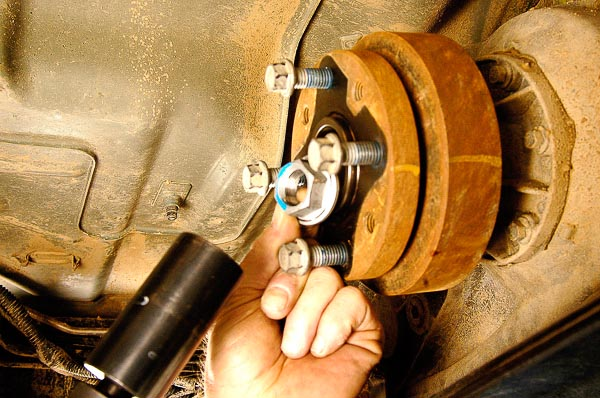 Replacing OEM driveline.