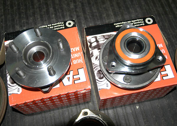 New unit hub bearing sets for the XJ Cherokee and Wranglers