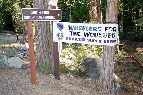 Campground reserved for this group, September 17-19, 2010!