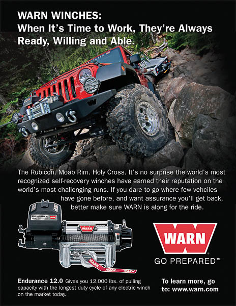 Warn Industries winch ad.