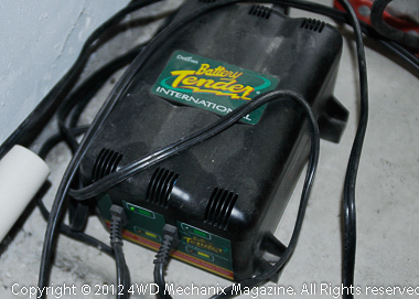 Two-battery Battery Tender