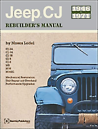 Vintage 1946-71 CJ Jeep Manual by Moses Ludel