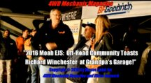 2016 Moab EJS: Friends, Colleagues and Guests Toast Richard Winchester