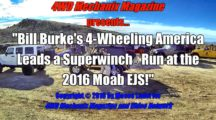 Bill Burke's 4-Wheeling America Leads the Superwinch and Bestop Run at 2016 Moab Easter Jeep Safari