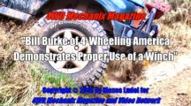 Bill Burke of 4-Wheeling America Demonstrates Proper Winch Use
