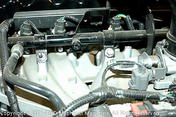 4.0L Jeep inline six MPI injection system