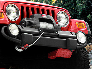 Moses Ludel's 4WD Mechanix Magazine – Moses Ludel Installs a Warn 9.5Ti Winch