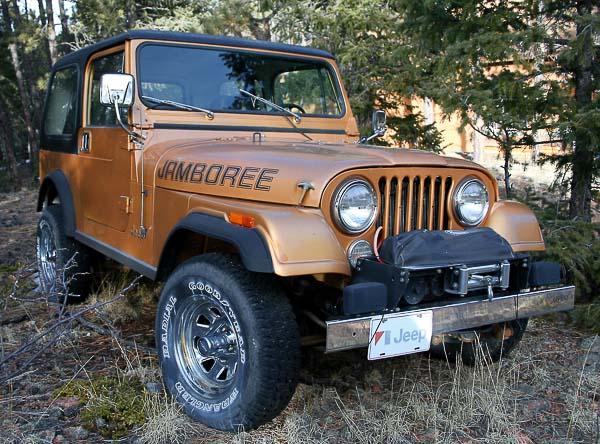 CJ Jeep in the AMC Era