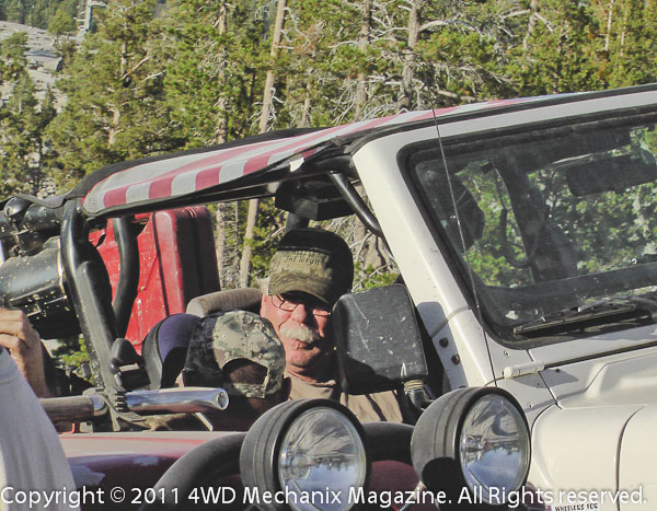 Vets get a dose of four-wheeling on this notorious Sierra trail.