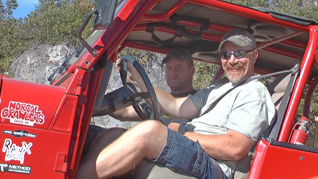 Dan Hiney on the Rubicon Trail with Vets