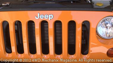 2012 Jeep JK Wrangler Rubicon grille