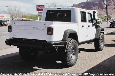 AEV Jeep JK pickup at Moab 2012