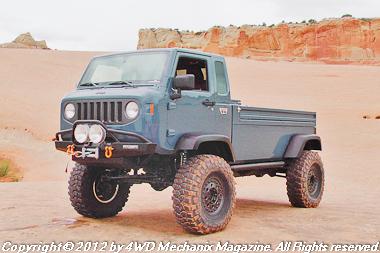 Mopar Concept Vehicles at 2012 Moab Jeep Safari