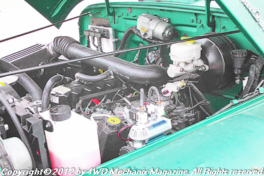 4.0L modern MPI inline six in a vintage Wllys Wagon