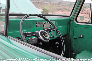 1962 Willys Wagon concept Jeep at Moab