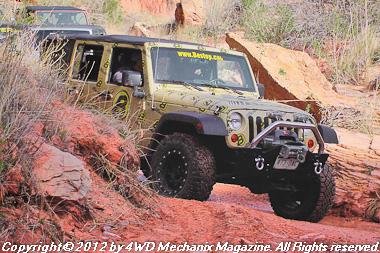 Bestop Media Run at the 2012 Moab Jeep Safari