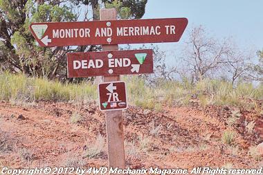 Bestop on the trail at Moab, Utah